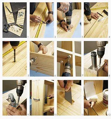木工儿童作品步骤